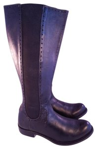 John Fluevog Punk Riding Equestrian black Boots