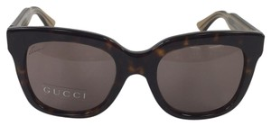Gucci New Gucci GG 3748/S YU8CO Brown with Gucci on Temple Plastic Style Sunglasses 140mm
