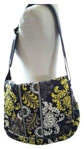 Vera Bradley Tote in Grey, black, yellow, white