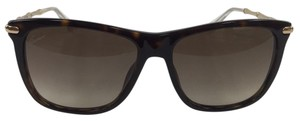 Gucci New Gucci GG 3778/S LVLCC Brown with Gucci Gold on Arm 140mm