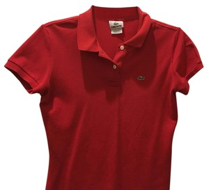 Lacoste Top Red