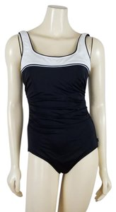 Reebok REEBOK one piece black and white Swimsuit size 12