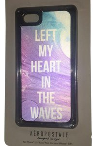 iPhone 5/5s Case Aeropostale Magical LEFT MY HEART IN THE WAVES 5/5s IPhone Case