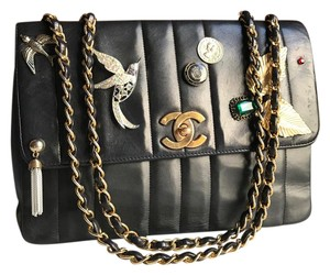 Chanel Vintage Charm Jumbo Flap Shoulder Bag