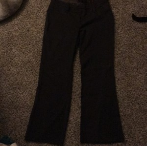 Maurices Boot Cut Pants chocolate brown