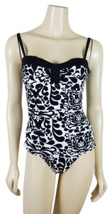Tommy Bahama TOMMY BAHAMA Black and white one piece Swimsuit size 10 TallA