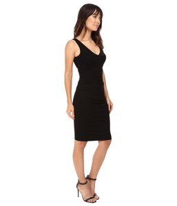 Nicole Miller Classic Hip Tucked Dress