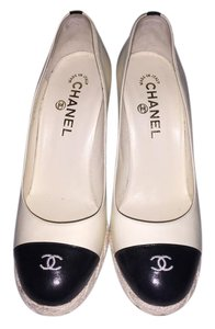 Chanel beige Wedges