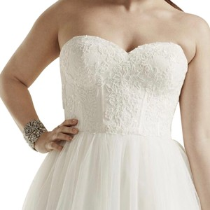 David's Bridal Wedding Gown Wedding Dress
