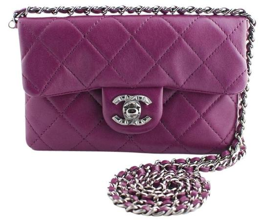 Preload https://item5.tradesy.com/images/chanel-wallet-on-chain-mineral-nights-mini-flap-classic-quilted-cc-logo-wallet-on-a-chain-purple-lam-21114414-0-0.jpg?width=440&height=440