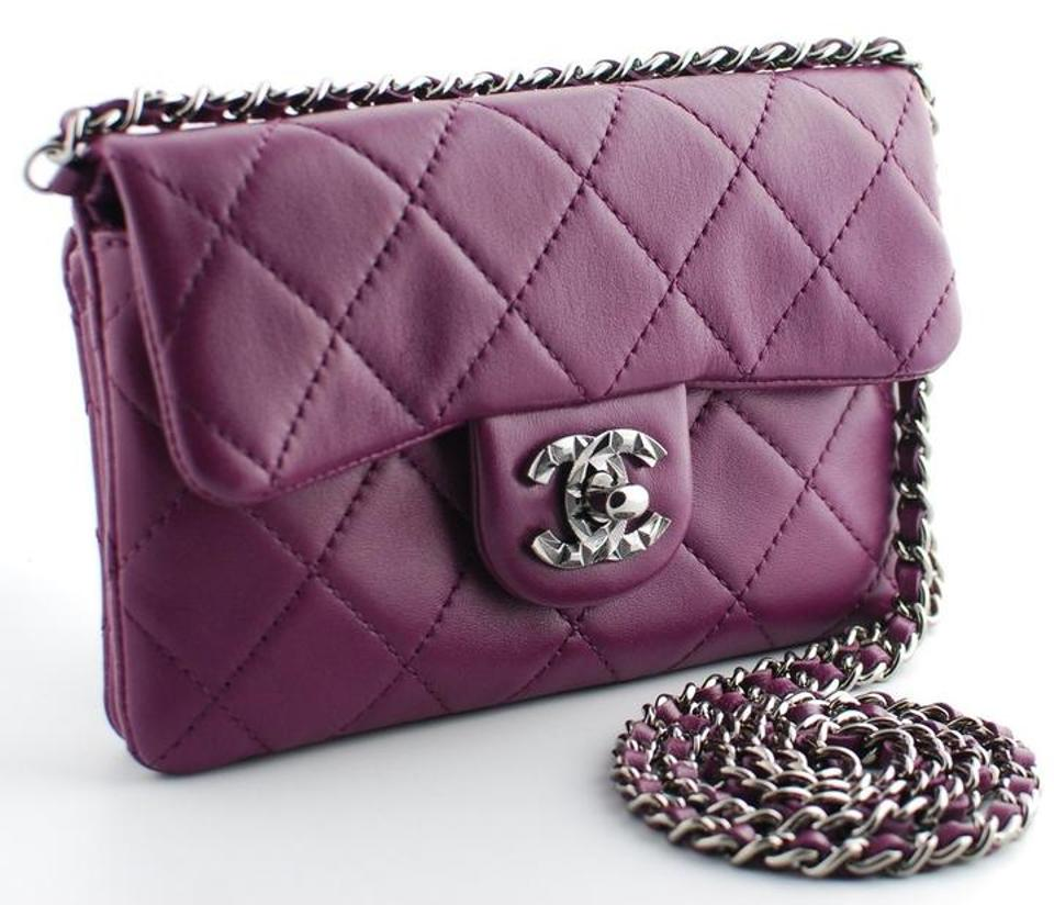 7cbe58b8049557 Chanel Mineral Nights Wallet On A Chain Woc Mini Cross Body Bag Image 11.  123456789101112