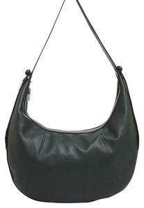 Elizabeth and James Dust & Hobo Leather Tote in Green