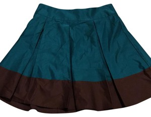 H&M Skirt emerald green