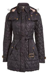 Burberry Brit Housecheck Black Quilted navy Jacket
