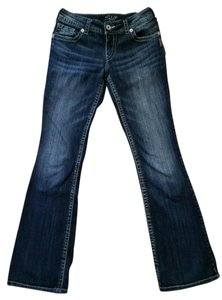 Silver Jeans Co. Suki Canada Boot Cut Jeans-Dark Rinse