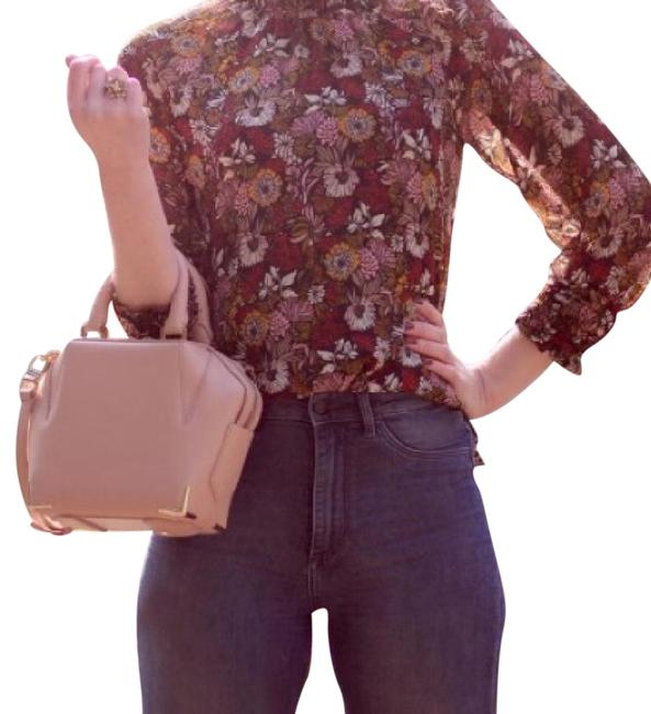Item - Mini Emile In with Pale Gold Blush Cross Body Bag