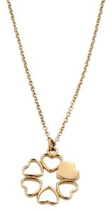 Tiffany & Co. Tiffany & Co. Picasso Crown Of Hearts 18k Rose Gold Pendant