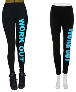 Other Yoga Workout Skinny Size One Black Leggings