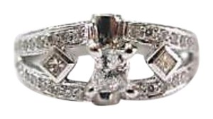 Other Fine Princess Cut Engagement Diamond Ring 14KT 1.30Ct