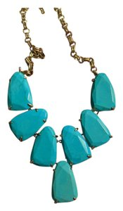 Kendra Scott Kendra Scott Harlow Statement Necklace In Turquoise