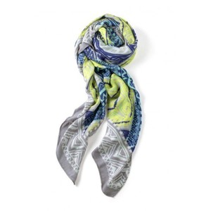 Stella & Dot Stella & Dot Union Square Scarf in Multi Geo Print