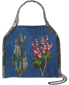 Stella McCartney Mccartney Falabella Falabella Mini Falabella Mini Denim Falabella Tote Shoulder Bag