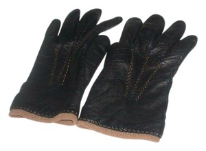 Brooks Brothers Brooks Brothers Leather/Cashmere Lined Gloves
