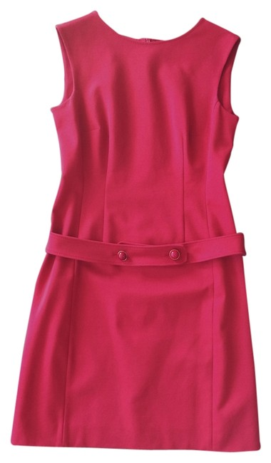 Preload https://item1.tradesy.com/images/moschino-red-cheap-and-chic-knee-length-workoffice-dress-size-8-m-2111645-0-0.jpg?width=400&height=650