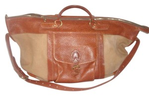 Brooks Brothers Brown Travel Bag