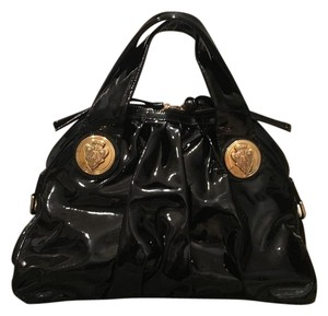 Gucci Hysteria Collection Satchel in Black