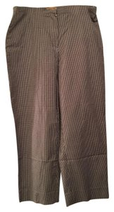 Jones New York Capris black checked