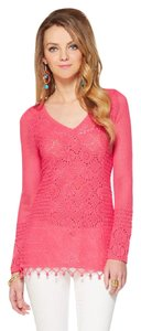 Lilly Pulitzer Crochet Summer Comfortable Tunic