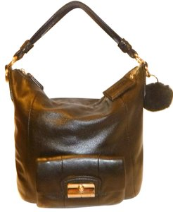 Coach Refurbished Leather Lined Hobo Bag