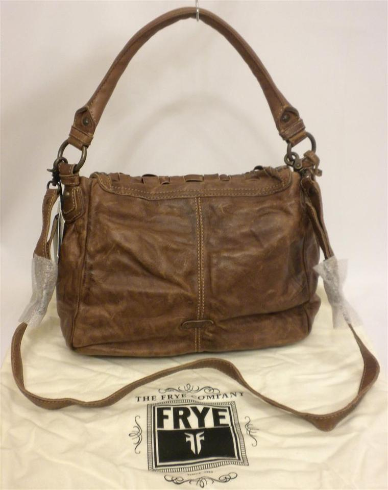 Frye Stacy Woven Leather Studded Convertible Hobo Bag on . e5d9083fec33f