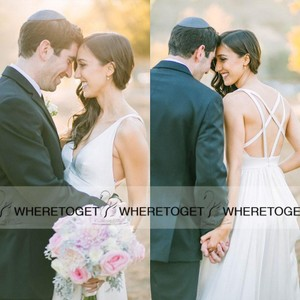 Strappy Wedding Dress