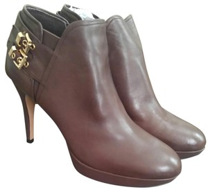 Vince Camuto Brown w/ gold buckles Boots