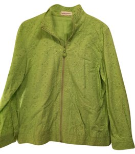 Draper's and Damon's Cotton lime green Jacket