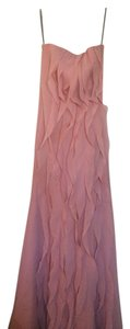 Vera Wang Bridal Ballet Strapless Crinkle Chiffon Dress Vw360102 Dress