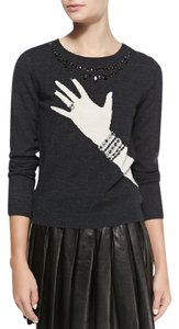 Alice + Olivia + Bling Ring Bling Sweater