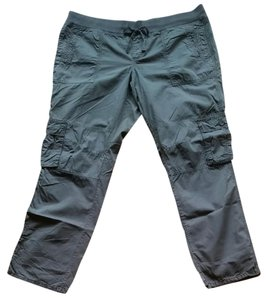 Gap Cargo Pants Military Olive Reen Army Green Capris Oil green