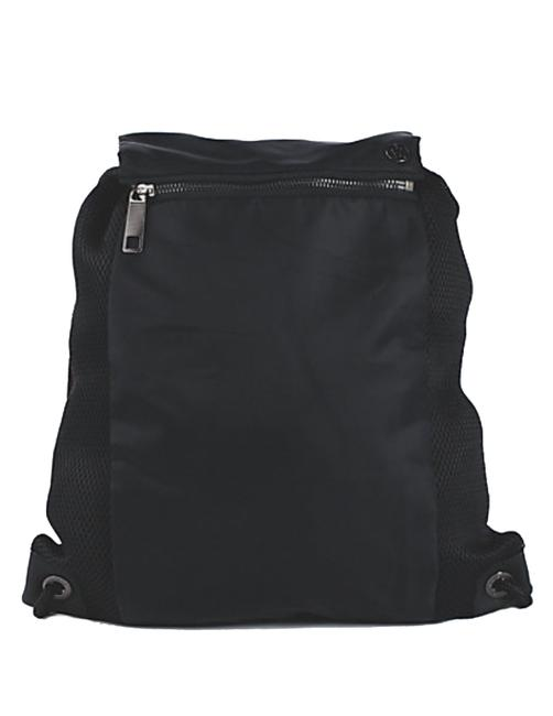 Item - Women's In A Cinch Pack Gym Black Nylon Backpack