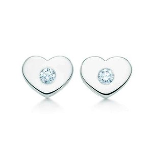 Tiffany & Co. Paloma Picasso(R) Modern Heart Earrings by Tiffany & Co