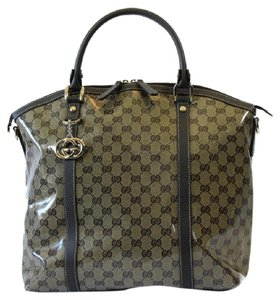 Gucci Crystal Canvas 339551 Shoulder Bag