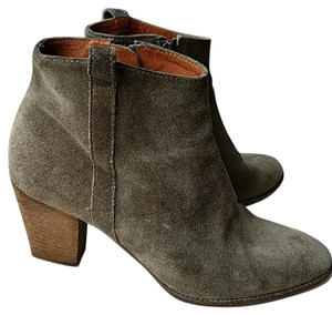 Madewell Olive Boots