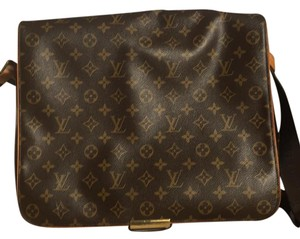 Louis Vuitton Brown Messenger Bag