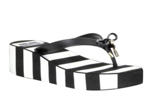 Kate Spade black white Sandals