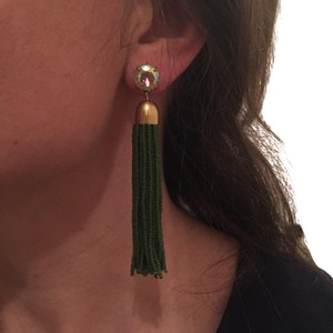J.Crew J.Crew Beaded Tassel Earrings