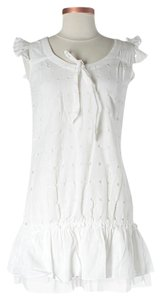 DKNY short dress white on Tradesy