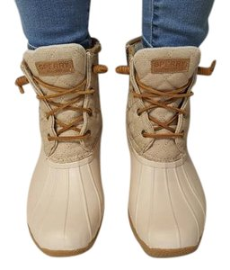 Sperry Oyster/Oatmeal Boots