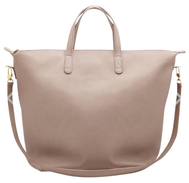 Item - Carryall Oversized Blush Leather Tote